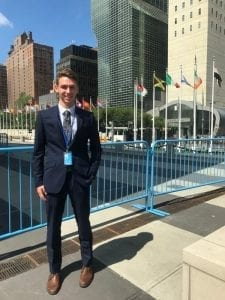 Larkin Cleland, 2018 TOU Summer Intern