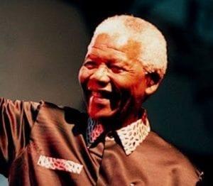Nelson Mandela, Cape Town, 1999