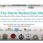 Launch of the Faith For Harm Reduction Manual/ India