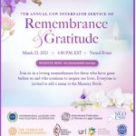 7th Annual CSW Interfaith Service of Remembrance and Gratitude